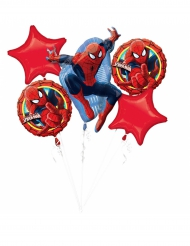 5 aluminium Spiderman Ultimate™ ballonnen