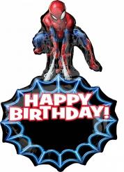 Grote aluminium verjaardagsballon Spiderman™