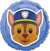 Chase Paw Patrol™ Emoji™ aluminium ballon
