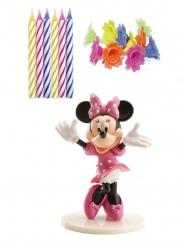 Minnie™ decoratie en kaarsjes set