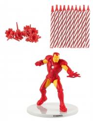 Iron Man™ verjaardagskaarsen