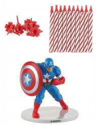 Taartversiering set Captain America™