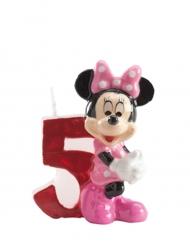Minnie™ cijfer 5 kaars