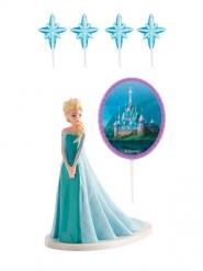 Elsa Frozen™ taart decoratie set
