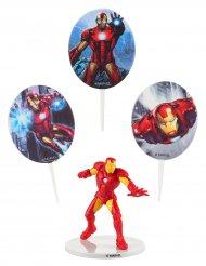 Taartdecoratie set Iron Man™