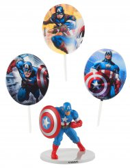 Taart decoratie set Captain America™