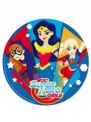 DC Super Hero Girls™ suikerschijf