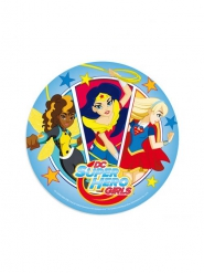 Eetbare schijf DC Super Hero Girls™