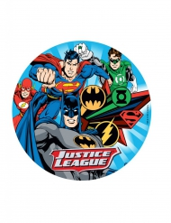 Eetbare taartdecoratie Justice League™