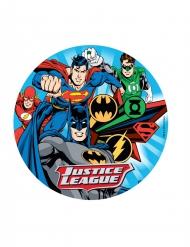 Eetbare taartdecoratie Justice League™