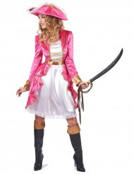 Barokke piraten kostuum voor dames
