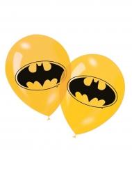 6 gele Batman™ ballonnen