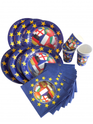 Europa voetbal tafeldecoratie set