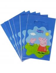 6 Peppa Pig™ feestzakjes