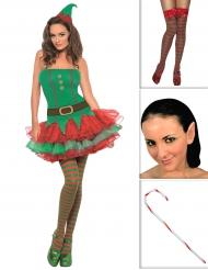 Sexy elfen kostuum pack voor vrouwen