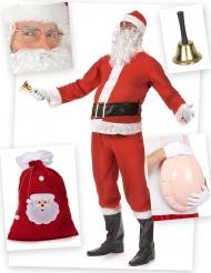 Compleet kostuum kerstman voor volwassenen