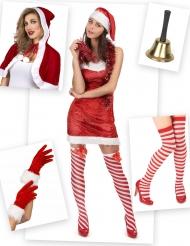 Kerstvrouw kostuum pack voor vrouwen