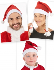 Set kerstman mutsen