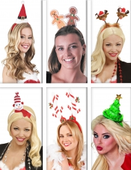 Kerst personages haarband pack