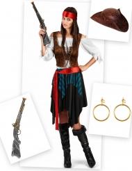 Piraten kostuum pack voor vrouwen