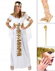 Egyptische koningin kostuum pack