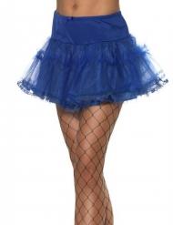 Blauwe petticoat voor dames