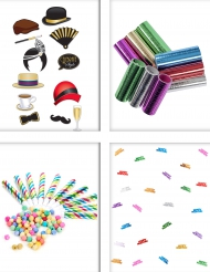 Kleurrijk feest animatie pack
