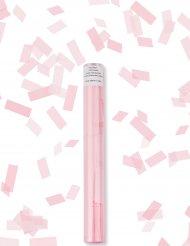 Lichtroze rechthoekige confetti kanon