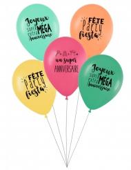 5 kleurrijke superverjaardag ballonnen