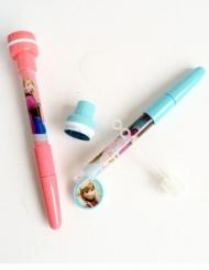 Frozen™ pen met bellenblaas en stempel
