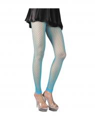 Turquoise netstof panty voor vrouwen