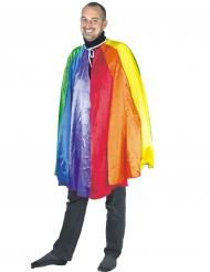 Regenboog cape voor volwassenen
