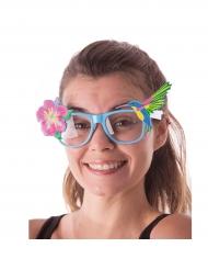 Hawaiiaanse bloem bril voor volwassenen