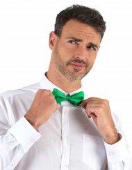 Groen glanzend strikje voor volwassenen
