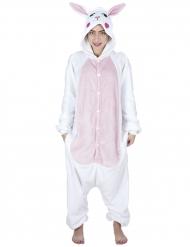 Schattig konijn kostuum voor volwassenen