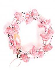 Roze dolfijn armband voor kinderen