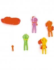 Mini parachutist speeltje voor pinata