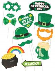 13 Saint Patrick photobooth accessoires