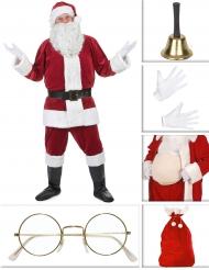 Luxe kerstman kostuum pack voor volwassenen