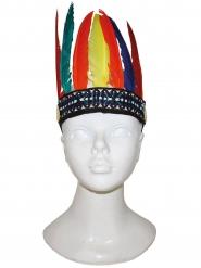 Kleurrijke indianen hoofdband voor kinderen