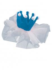 Blauwe mini prinses clip