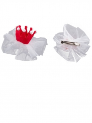 Mini roze prinses clip