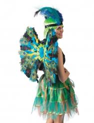 Luxe pauwveren vleugels
