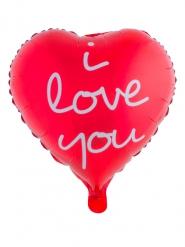 Aluminiumballon I love you
