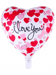 I love you hart ballon