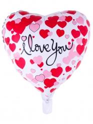 I love you hart ballon