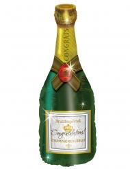 Aluminium champagnefles ballon