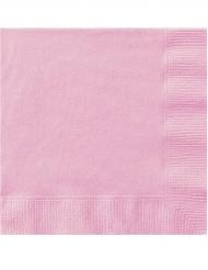 50 roze servetten
