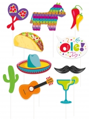 10 Mexicaans feest photobooth accessoires