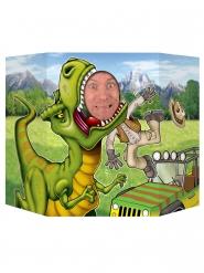Dinosaurus photobooth poster